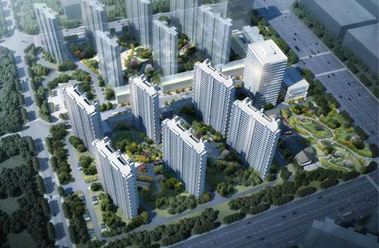 凤汇壹品规划出炉,两幅地块合并建设13栋住宅